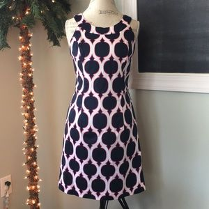 Crown & Ivy Printed Dress sz 8